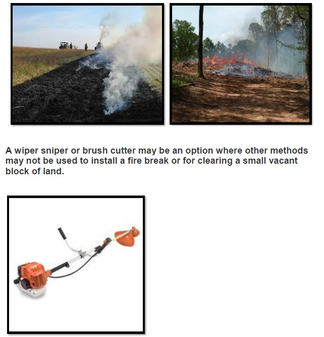 Fire Break and Hazard Reduction Page 8