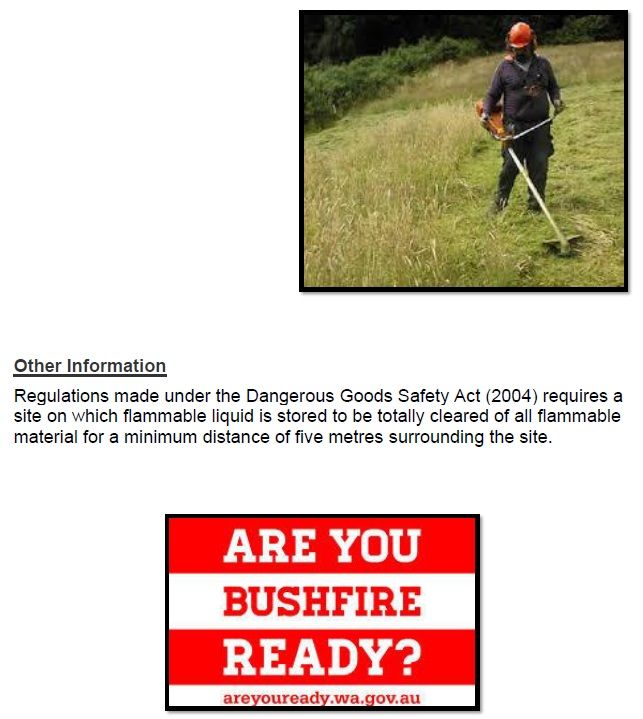 Fire Break and Hazard Reduction Page 9