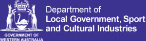 Department of Local Government Sport and Cultural Industries Logo