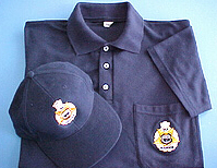 Caps and polo shirts