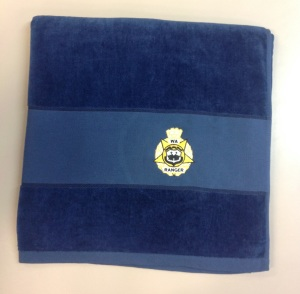 WARA High Quality Towel ( Available in Blue as pictured and Yellow)
