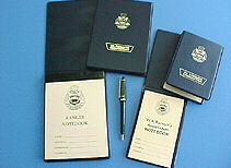 Ranger note books
