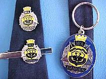WA Ranger tie pins