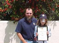 Brooke O'Neill Junior Ranger No 7